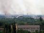 Во время артиллерийского обстрела Донецка