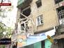 Последствия обстрела Луганска