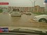 Сильные дожди в Магадане