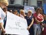 Митинг матерей украинских призывников