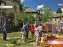 Палаточный лагерь погорельцев в Ногинске