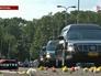 Траурный кортеж с погибшими в авиакатастрофе Boeing 777
