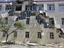 Последствия обстрела Нацгвардией Украины жилого сектора