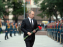 Президент России Владимир Путин во время церемонии возложения цветов