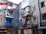 Жилой дом, пострадавший в результате артобстрела украинской армии