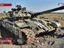 Брошенный Т-64 украинской армии