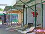 Снос незаконно построенных торговых точек на Каширском рынке