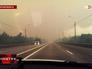 Смог от горящих торфяников в Тверской области