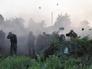 Украинская артиллерия ведет огонь