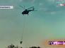 Пожарный вертолет МЧС в Тверской области