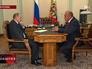 Владимир Путин и О.И. главы Удмуртской Республики Александр Соловьев