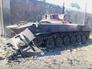 Подбитая военная техника Нацгвардии Украины