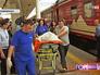 Московские врачи встречают тяжелобольных детей из Донецка