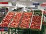 Фруктово-овощной отдел в магазине