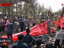 Работы на месте разбившегося в Иране самолета