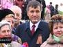 Министра внутренних дел Украины Арсен Аваков с георгиевской лентой