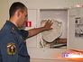 Сотрудники МЧС проверяют школа на пожарную безопасность