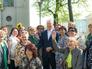Мэр Москвы Сергей Собянин с жителями города