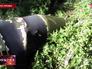 """Фрагмент ракеты """"Точка-У"""""""