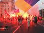 Марш неонацистов в Запорожской области