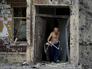 Последствия артобстрела по городским кварталам Донецка