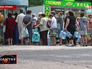Жители Донецка в очереди за водой