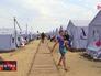 Лагерь для беженцев с Украины