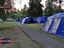 Новый лагерь для беженцев с Украины