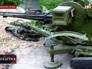 Брошенное оружие Нацгвардией Украины в Луганской области