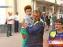 Врачи медицины катастроф встречают тяжелобольных детей из Донецка