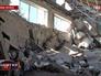 Разрушения в ходе обстрела Донецка