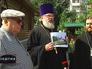 Владимир Ресин и священнослужители осмотрели строительство храма