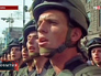 Солдаты украинской армии на параде