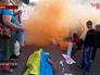 Акция против военного парада в честь независимости Украины в Киеве