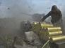 Украинская артиллерия ведет стрельбу