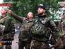 Солдаты украинской армии в Луганской области