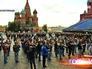 """Репетиция духовых оркестров в рамках фестиваля """"Спасская башня"""""""
