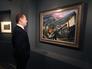 """Дмитрий Медведев во время посещения выставки """"Взгляни в глаза войны"""""""