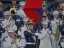 """Церемония открытия военно-музыкального фестиваля """"Спасская башня"""" в Москве"""