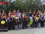 1 сентября. Ученики на торжественной линейке, посвященной Дню знаний во Владивостоке