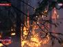 Лесные пожары в Тыве