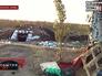 Оставленные позиции украинской армии в Донецкой области