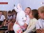 Дети беженцев с Украины на психологическом тренинге