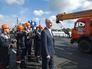 Мэр Москвы Сергей Собянин на открытии эстакады