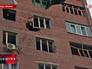 Последствия обстрела жилых районов Донецка