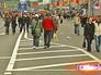 Перекрытие улиц в центре Москвы