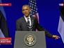 Президент США Барак Обама выступает в Эстонии