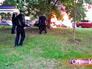 Во время пожара микроавтобуса