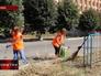 Уборка улиц в Луганске