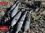 Снаряды украинских войск